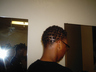comb coils in permed hair I did